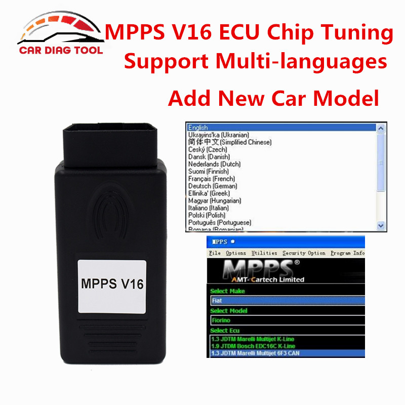 Prix pour OBD2 SIPM V16 ECU Chip Tuning Outil Remap Chiptuning Can pour EDC15 EDC16 EDC17 Inkl CHECKSUM Flasher SMPS SIPM Chip Tuning Outil