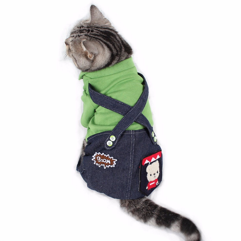 PipiFren Small Dogs Clothes Jumpsuit Costume Chihuahua Cat Coats For Pets Overalls Animals Clothing Yorkshire Pajamas hond