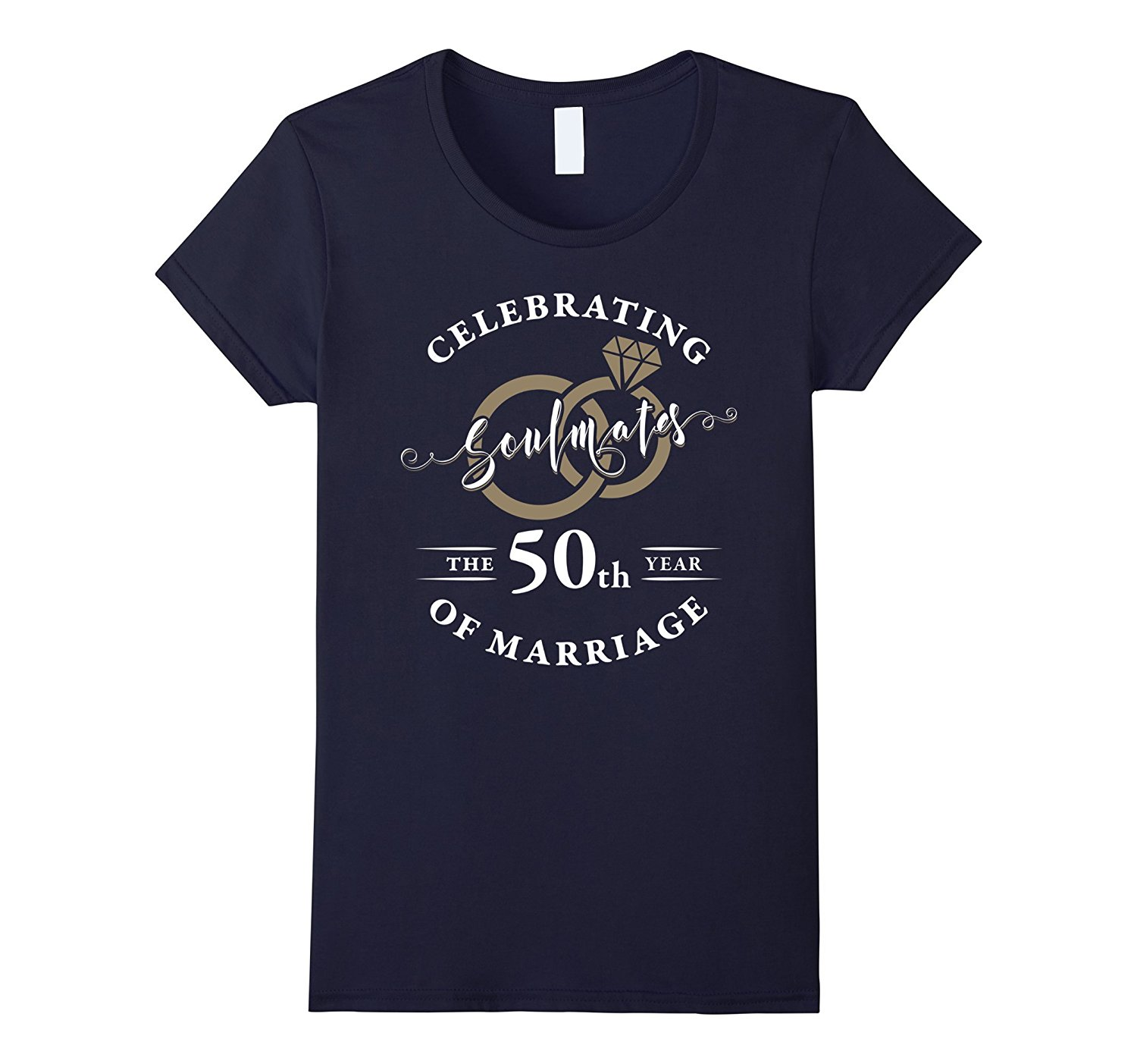 50th year of marriage 50th wedding anniversary t shirt for Custom 50 50 t shirts