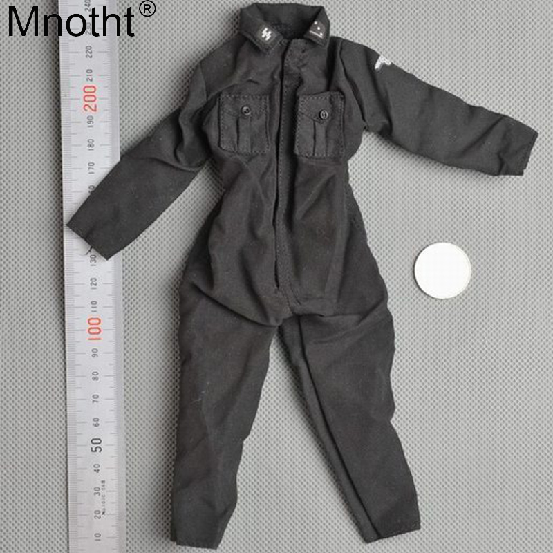 Mnotht 1/6 Scale Veyron Armored Forces Black Jumpsuit Clothes Model Male Clothes Accessory Toy For 12'' Soldier Action Figures цена