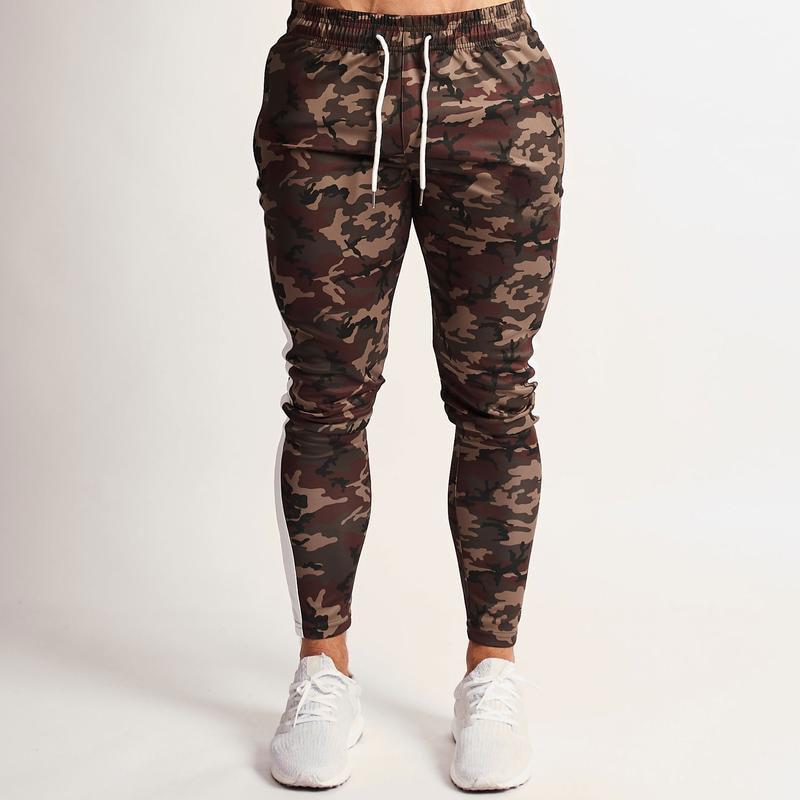 Joggers Pants Men 2020 Camouflage Colour Patchwork Men Pants Fitness Sportswear Sweatpants Male Casual Leggings Trousers 12