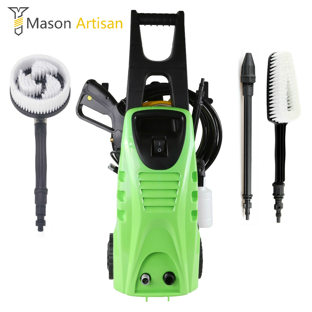 1885PSI High Pressure Car Washer Multifunction Garden Cleaning Machine High Pressure Cleaner Auto Car Wash Mini Washing Machine 480l h portable wash device car washing machine cleaning pump household high pressure car wash pump