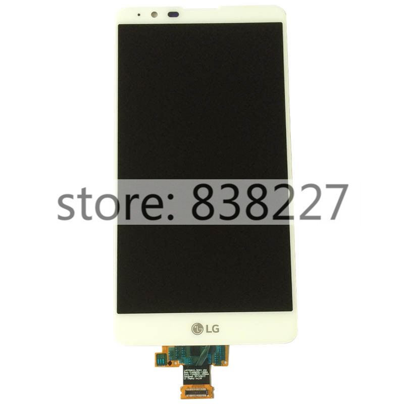 LCD Display For LG LS775 K520 touchscreen + LCD display Screen Digitizer with frame phone glass pantalla in white with housing