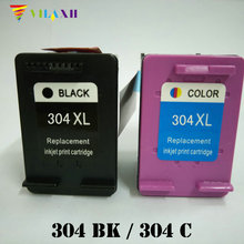 Vilaxh 304 xl Compatible Ink Cartridge Replacement for HP 304xl For Deskjet 3700 3720 3730 3732 Printer