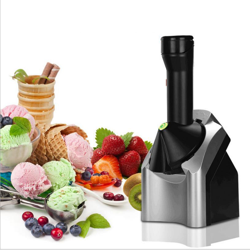 цены на 1.5L Electric Automatic Frozen Fruit Ice Cream Machine Kitchen Tools 220-240V ice cream maker Child DIY Household Ice Machine в интернет-магазинах