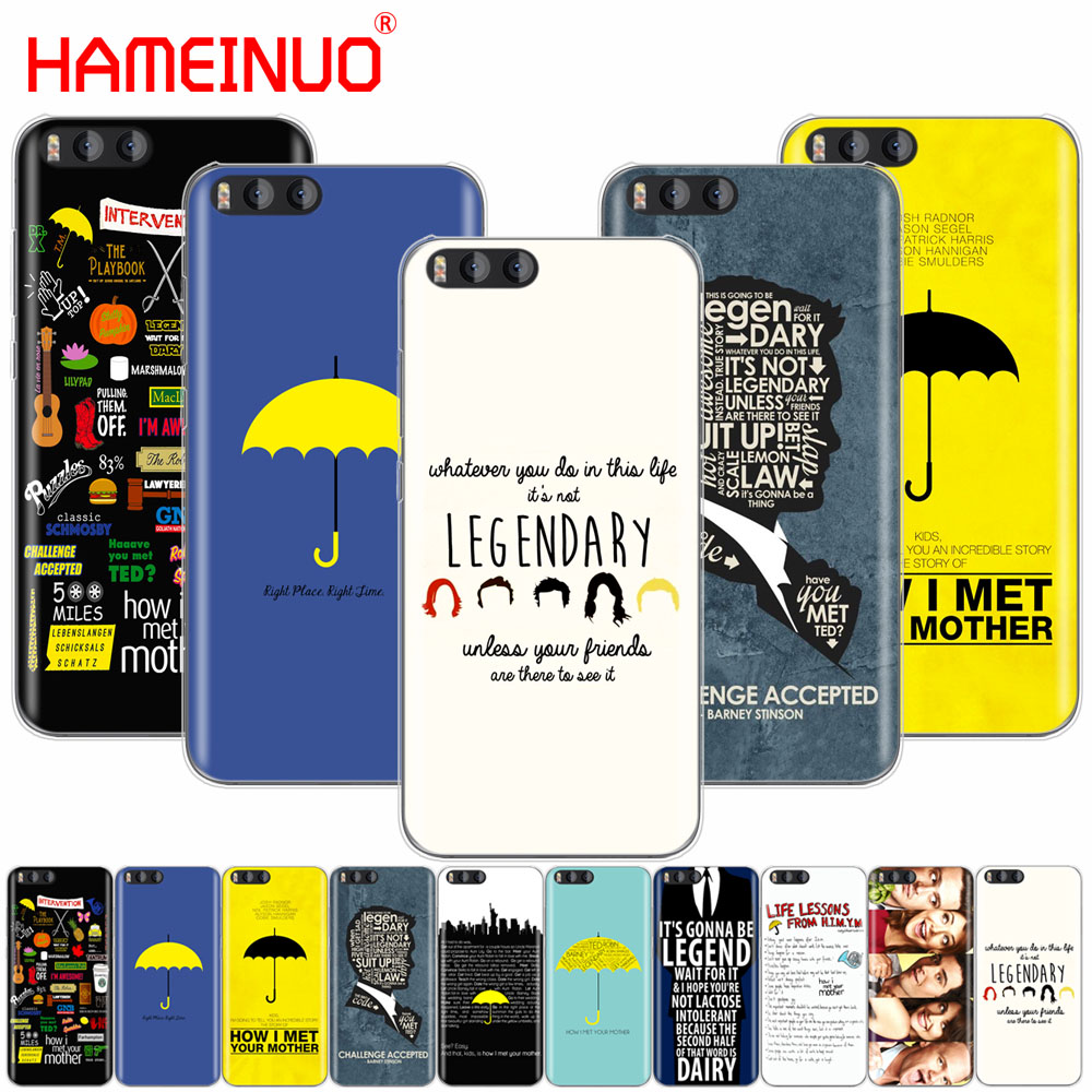 HAMEINUO how i met your mother himym quotes Cover Case for Xiaomi Mi A1 A2 3 4 5 5S 5C 5X 6 6X 4S 4I 4C NOTE MAX 2 mix plus