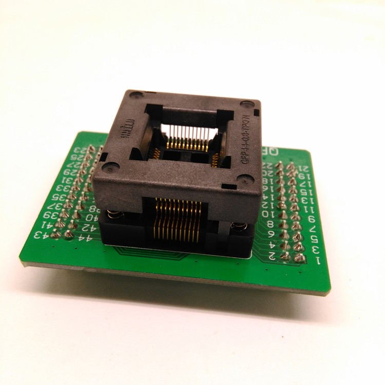 Ic Test Qfp44 To Dip44 Programmer Adapter Tqfp44 Lqfp44 Test Socket Sa245a Programmer Adapter Otq-44-0.8-04 Socket Back To Search Resultscomputer & Office