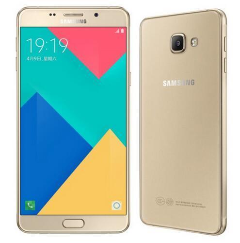 """Samsung Galaxy A9 Pro 2016 Duos Оригинальный Разблокирована 4 Г LTE Dual Sim Мобильный Телефон 6.0 """"16MP A9100 Octa Core RAM 4 ГБ ROM 32 ГБ"""