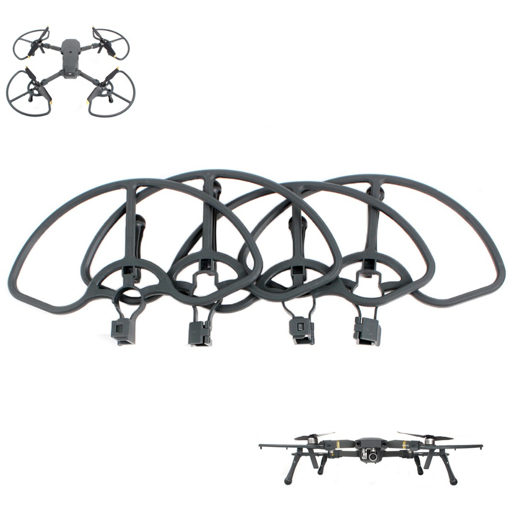 Propeller Guards Protectors Shielding Rings with New Cat Feet Landing Gears Stabilizers for DJI MAVIC PRO/ PLATINUM/ WHITE