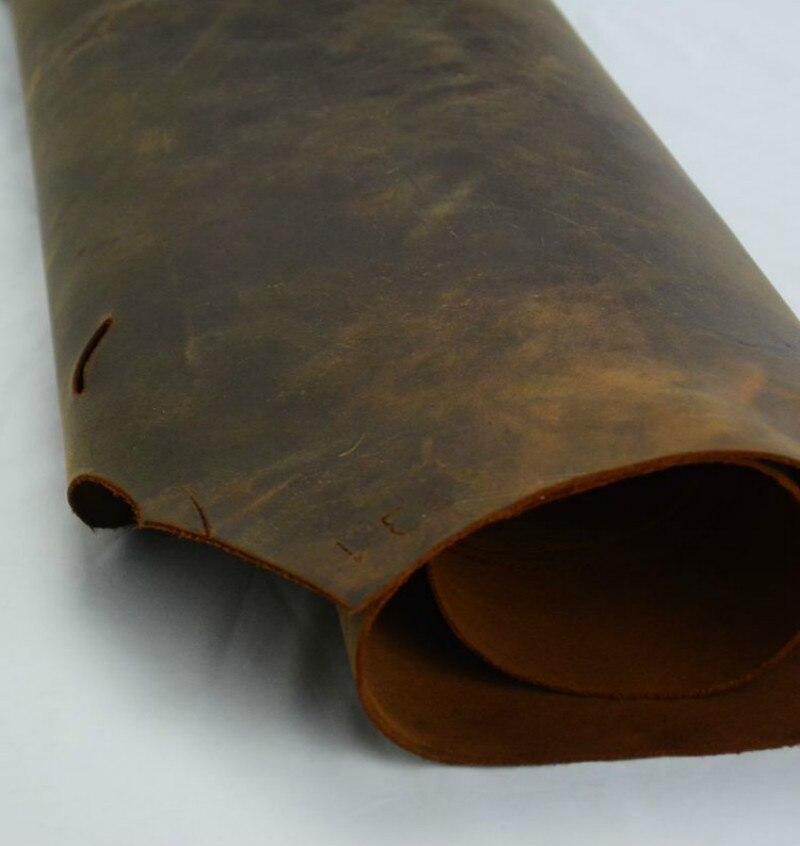 Aiguille travail en cuir artisanat première couche de peau de vache en cuir épais véritable en cuir sur 1.8mm à 2mm vache en cuir grande taille