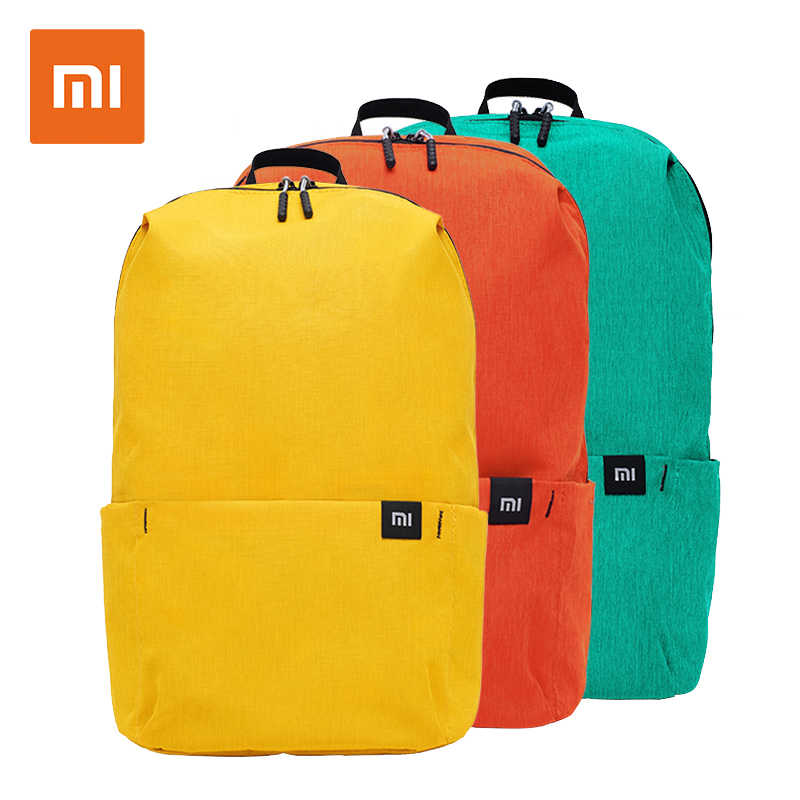 Original Xiaomi 10L Backpack Bag Waterproof Colorful Leisure Sports Chest Pack Bags Unisex For Mens Women Travel Camping