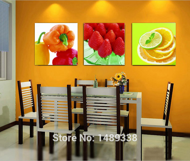 Kitchen Canvas Wall Art popular kitchen fruit canvas art-buy cheap kitchen fruit canvas