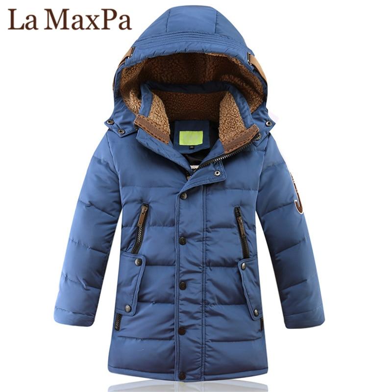 Duck, Children, Boys, Outerwear, Warm, Big