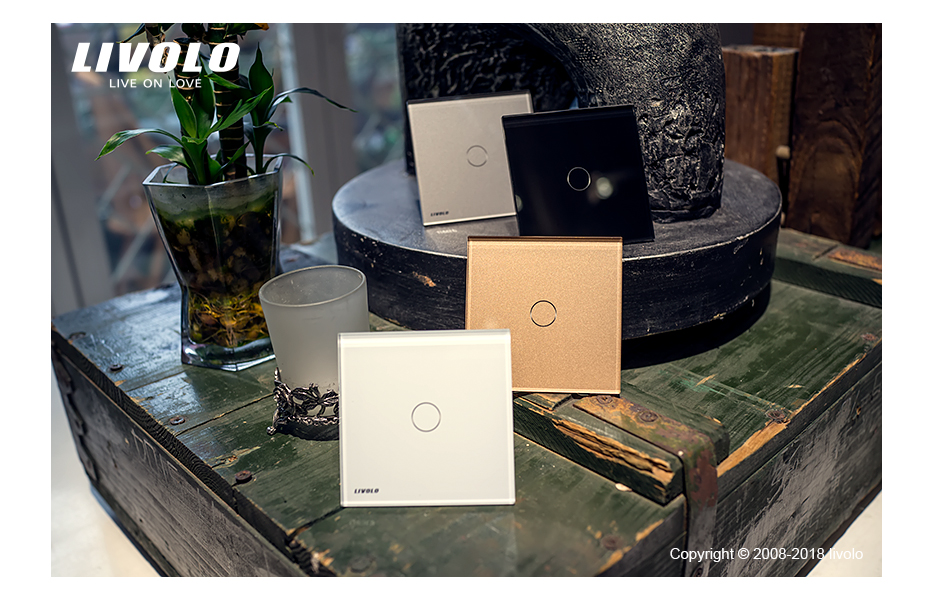 Livolo luxury Wall Touch Sensor Switch 47