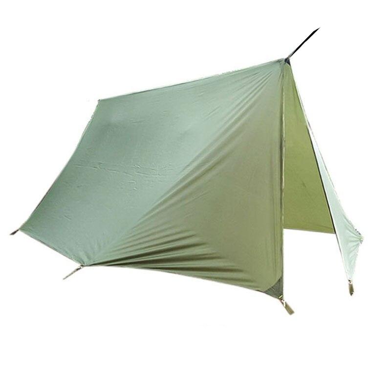 dossel acampamento ao ar livre poleless tenda rede toldo esteira de acampamento abrigo protecao para sol