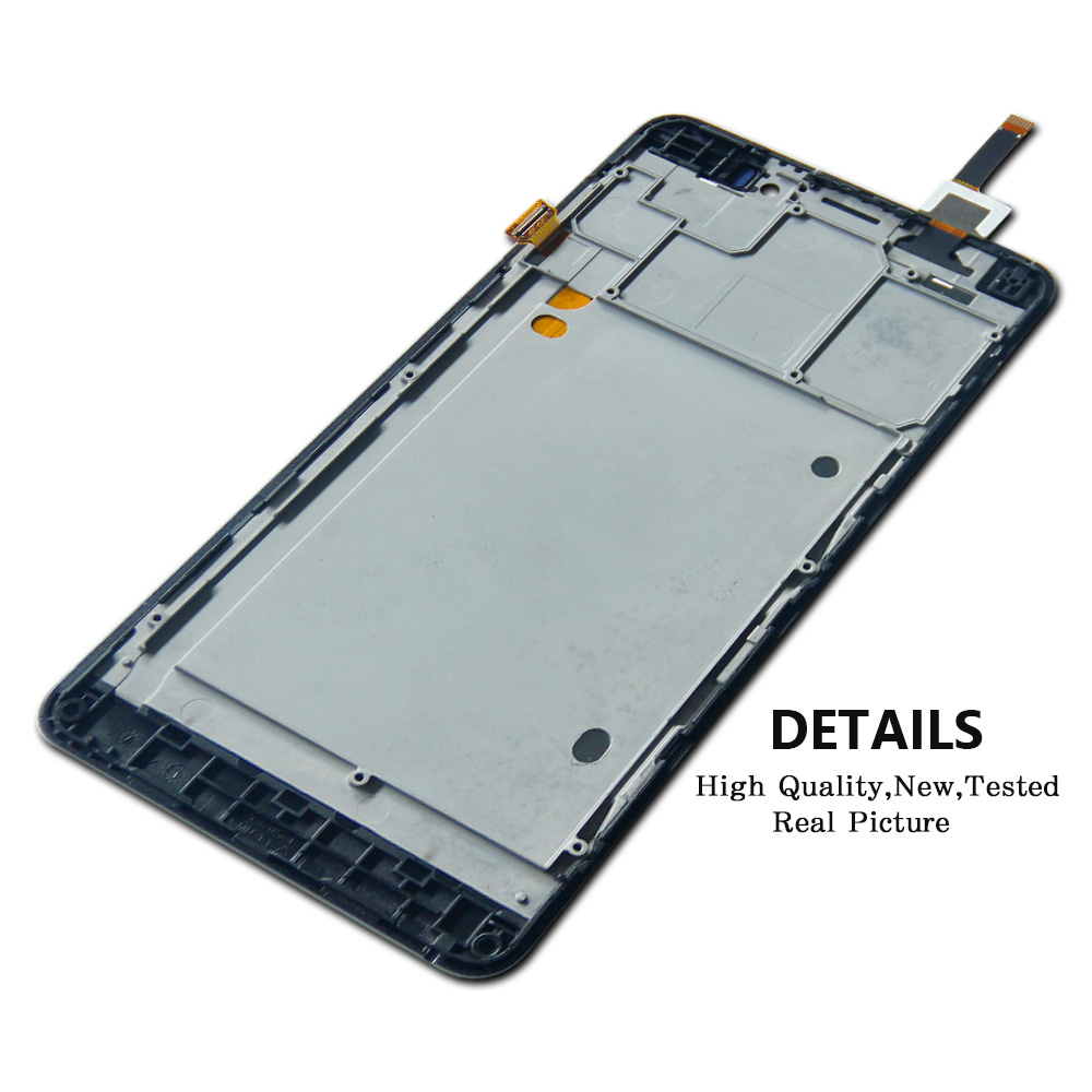 Pour Lenovo P780 LCD Affichage Digitizer Écran Tactile Assemblée Capteur avec Cadre + Outils