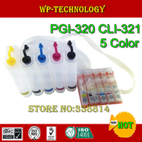 CISS für PGI320 CLI321  anzug für Canon IP3600 IP3680 IP4600 IP4680 MP540 MP545 MP620 MP630  5 farbe  Leere ciss  mit ARC chip