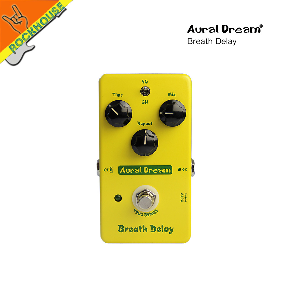 AuralDream Delay Guitar Effects Pedal Analog Delay Pedal warm and natural sound 450ms delay time True Bypass Free Shipping nematode parasite infesting lizard and their physiological effects