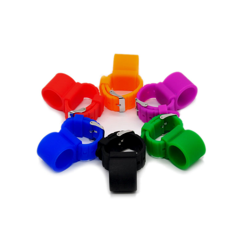 Colorful Watch Style Silicone Shisha Hookah Hose Holder For Hookah Sheesha Chicha Narguile Accessories