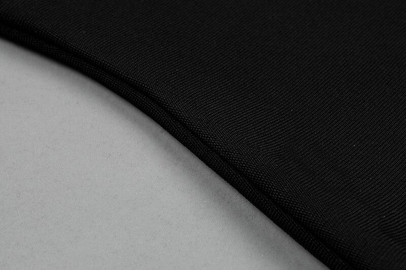 Di Sirena Lunghezza Fasciatura Dalla Elastico Tromba Della Nero Bodycon Partito Fodero Merletto Nuovi Il Vestito Del Droping Ginocchio Sexy Trasporto Cinghia Hl604 2018 80nvWPqT