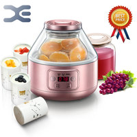 Высокое качество Мультиварка Йогуртницы терморегулятор йогурт Кухня прибор