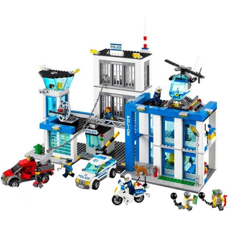 890pcs Future Element Cavaliers Police Full Action Building Blocks Toy Children Gifts Compatible With Legoinglys City