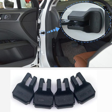 Cubierta de tope limitador de puerta de protección ABS para el estilo del coche para Suzuki SX4 Jimmy Swift S-CROSS Grand Vitara kizkashi