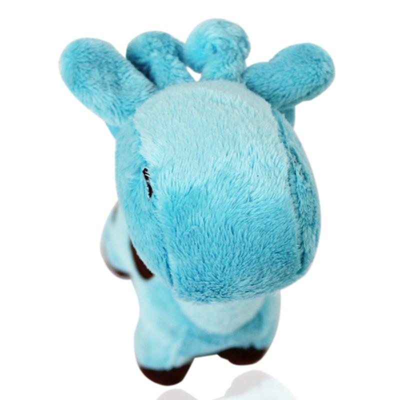 17*5cm Cartoon Deer Shape Plush Dog Toy Puppy Sound Chew Toys 7