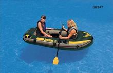 2 person Fishing Boat Sea Hawk Inflatable Rowing Boats Rubber Kayak Fishing Boat With Oars And Pump for Summer Water Sports