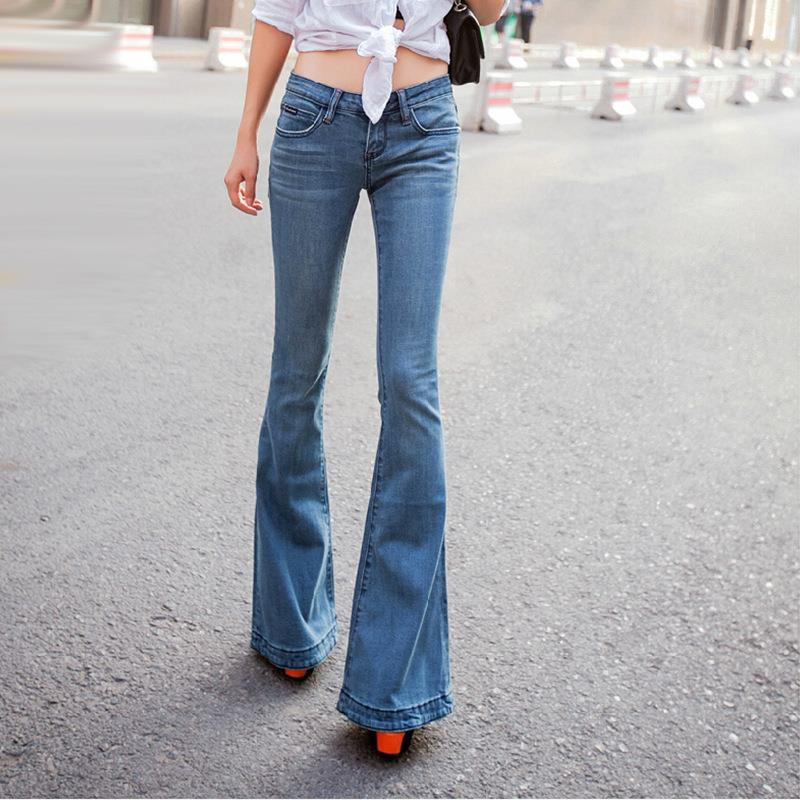 Low rise skinny flare jeans – Global fashion jeans collection