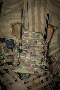 Image 5 - Antena tática dobrável abbree AR 148, tipo pescoço de cisne, sma, feminina, UV 5R, UV 82 e UV 9R plus