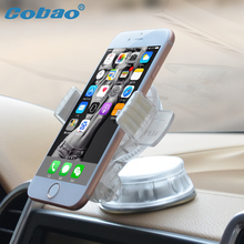 Cobao Universal Car mobile phone holder gps phone navigation bracket for iphone5 6 7 samsung HTC LG& Vehicle adsorption stents