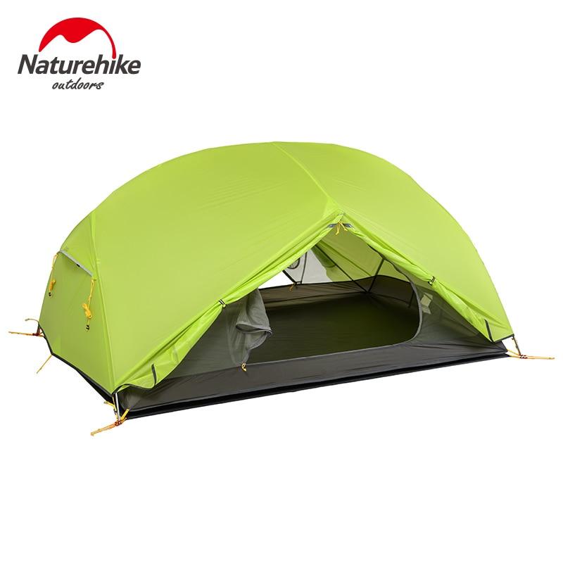 Naturehike 3 Season Camping კარავი 20D - კემპინგი და ლაშქრობა - ფოტო 4