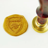 Arsenal logo Wax Seal sello / / de fútbol Arsenal invitación sellos / / team logo sellos