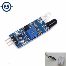 Smart Car Obstacle Avoidance Sensor Module Barrier IR Infrared Module Photoelectric Reflection Sensor 3 Wire for Arduino(China)