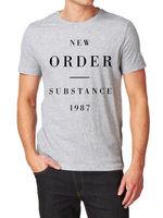 Substance 1987 LOGO T Shirt 100% Cotton Blue Monday Joy Division Order New