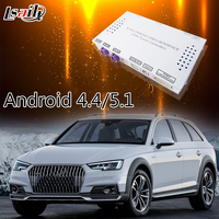 MirrorLink Android GPS System Video Interface For Audi A6L 2010 2015 With 3G MMI System Support