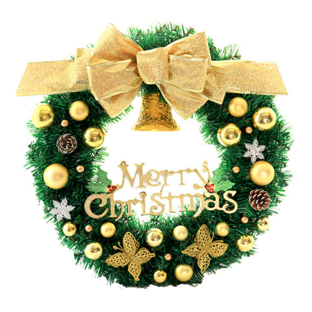 Christmas decorations Door Hanging Wreath tree wall Hanging decor ...