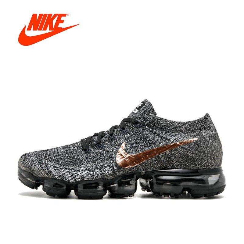 Оригинальный Новое поступление Официальный Nike AIR VAPORMAX FLYKNIT дышащая для мужчин's кроссовки спортивные спортивная обувь