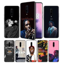Asap Rocky Soft Black Silicone Case Cover for OnePlus 6 6T 7 Pro 5G Ultra-thin TPU Phone Back Protective