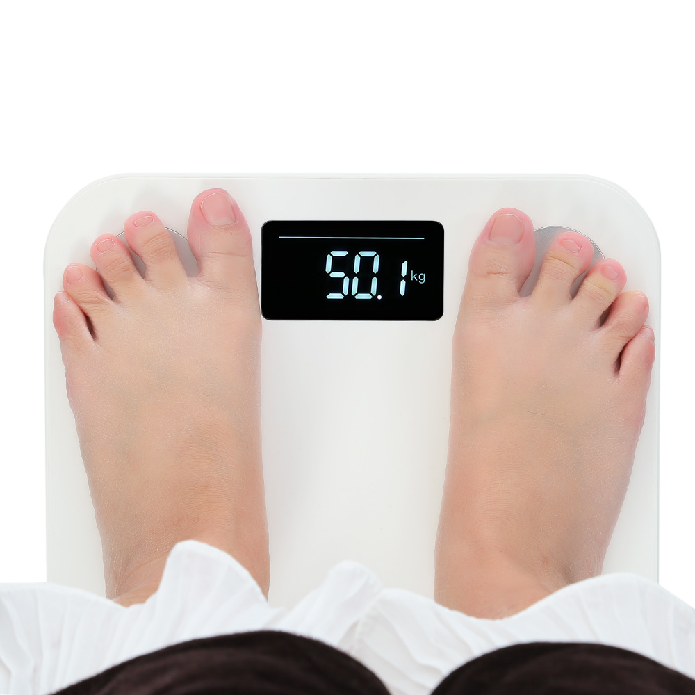 Yunmai Timbangan Mini Bluetooth Smart Body Fat Scale With K5 Taffware Badan Digital 180kg Sc 03 Original Scales Color Led Weight Percentage Household App