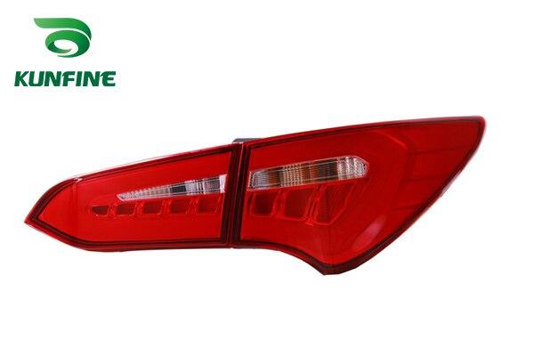 Пара KUNFINE автомобиля задний фонарь для Hyundai SANDAFEI 2013 2014 2015 2016 стоп-сигнал с поворотом световой сигнал
