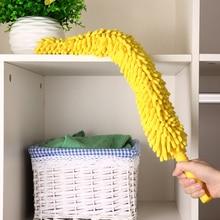 Chenille Microfiber Duster Cleaner Handle Fleksibel Dicuci Bersihkan Debu Furniture untuk Ceiling Fans Mobil rak buku