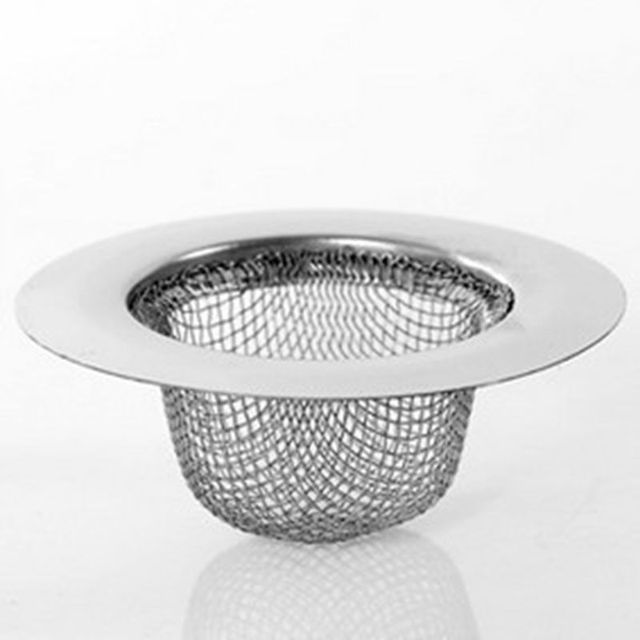 Small Stainless Steel Sink Strainer Under Sink Filter Bathtub Plug Network  Compartment Slot   Tall Models