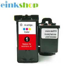 Einkshop Ink Cartridge for Lexmark 1 For 01 X3470 X2300 X2310 X2330 X2350 X2470 X3330 X3370 Z730 Z735 X2730 X2735
