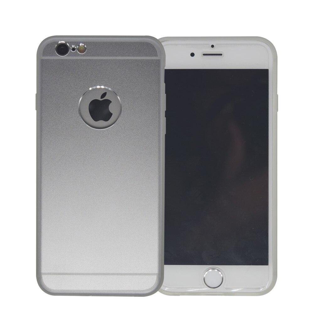 Lujo brushed metal de aluminio híbrido de silicona cubierta del teléfono case pa
