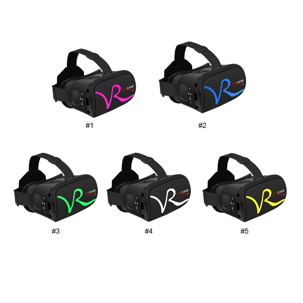 Caso caja gafas de realidad virtual 3d vr vr rk-a1 cartón para xiaomi plus 4.0-6