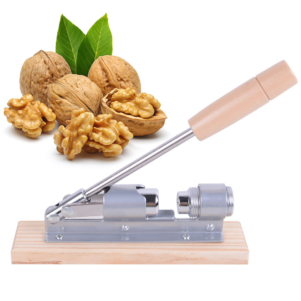 High Quality New Mechanical Heavy Duty Rocket Nut Cracker Nutcracker Nut Sheller for Home Kitchen Nut Cracker Opener Tools stainless steel spring nutcracker creative nut sheller