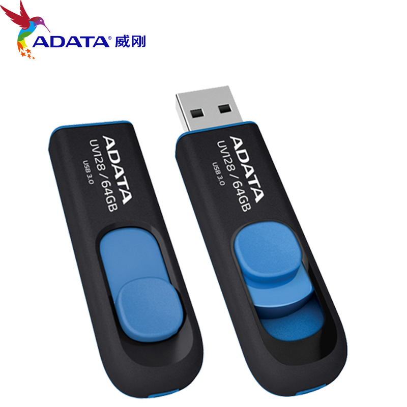 brand new high speed adata uv128 usb 3 0 flash drive real. Black Bedroom Furniture Sets. Home Design Ideas