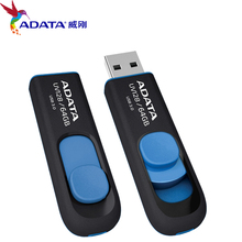 Brand new High Speed ADATA UV128 USB 3.0 Flash Drive Real Capacity 16GB 32GB 64GB Memory Stick USB3.0 Pen Drive Disk Mini U Disk